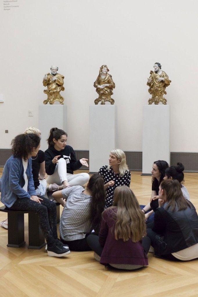 © lab.Bode – Initiative zur Stärkung der Vermittlungsarbeit in Museen / Staatliche Museen zu Berlin / Lina Ruske, 2017