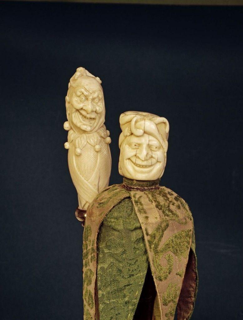 Narrenzepter © bpk/ Staatliche Museen zu Berlin, Kunstgewerbemuseum / Irmgard Mues-Funke
