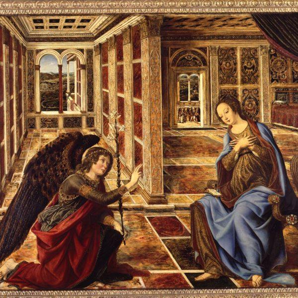 Piero del Pollaiuolo: Die Verkündigung an Maria, um 1470 © Staatliche Museen zu Berlin, Gemäldegalerie