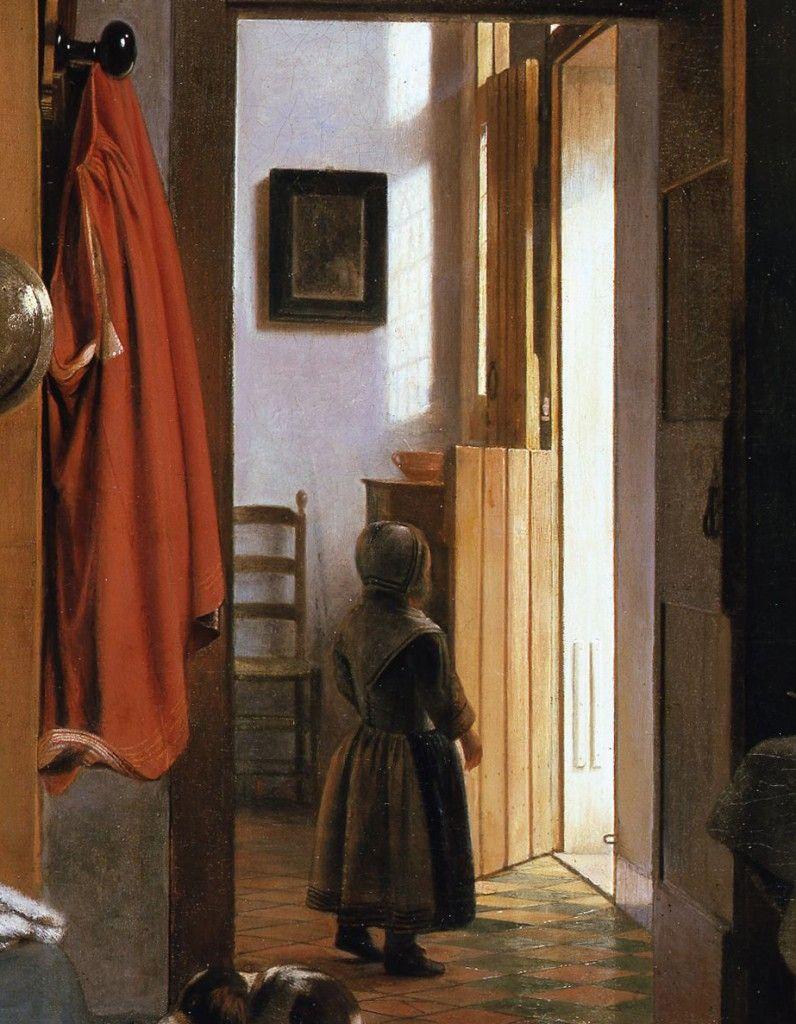 Detail: Die Lichtkomposition © Staatliche Museen zu Berlin, Gemäldegalerie