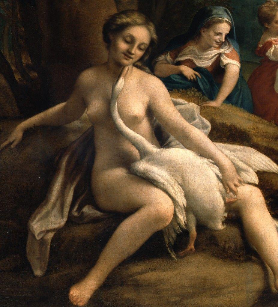 Detail: Leda und der Schwan © Staatliche Museen zu Berlin, Gemäldegalerie