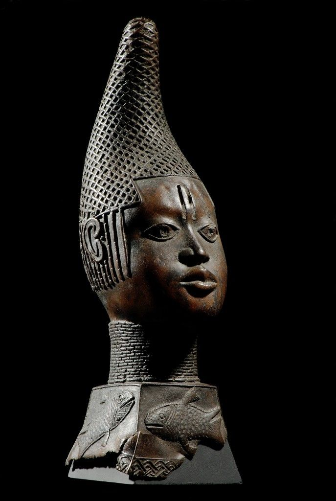 Gedenkkopf einer Königinmutter, Benin, 17. Jh. (c) Staatliche Museen zu Berlin, Ethnologisches Museum / Jürgen Liepe