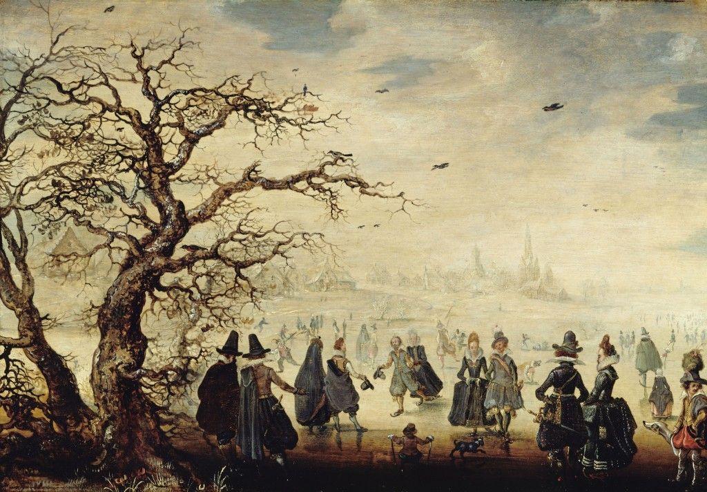 Adam van Breen: Wintervergnügen (17. Jh.); © Staatliche Museen zu Berlin, Gemäldegalerie / Jörg P. Anders