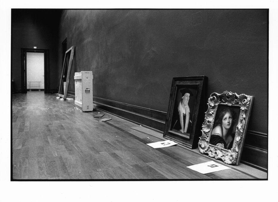 Die letzten Gemälde in der Galerie in Dahlem, 1997 ©Staatliche Museen zu Berlin Foto: Erik-Jan Ouwerkerk