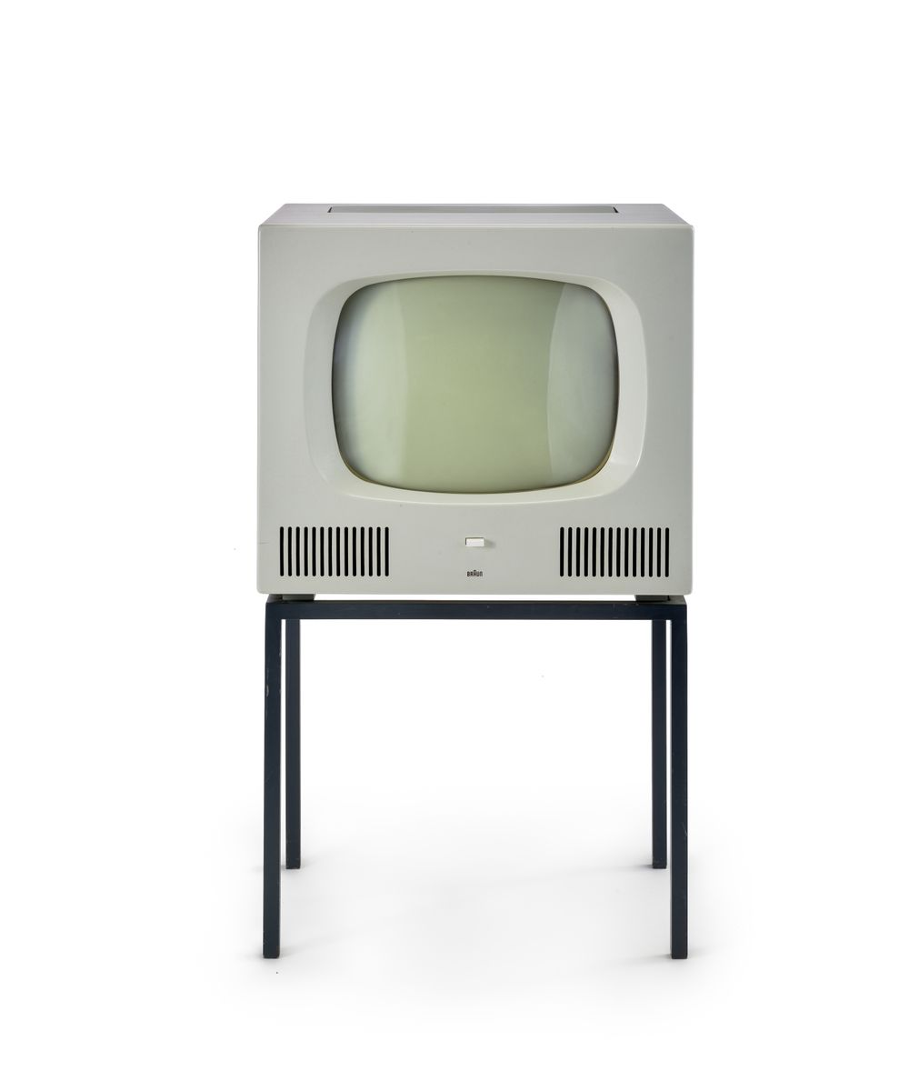 Fernsehgerät HF 1 von Herbert Hirche, 1958 ©Staatliche Museen zu Berlin, Kunstgewerbemuseum / Stephan Klonk
