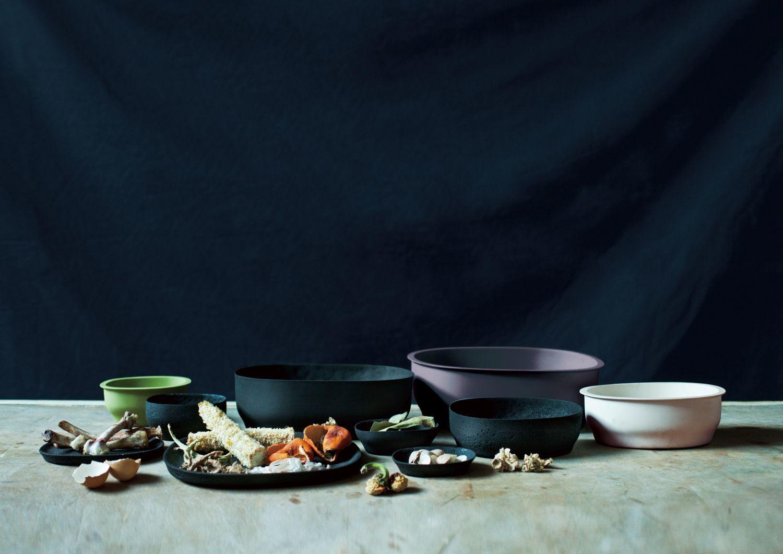 Foodwasteware / photo by Masami Naruo