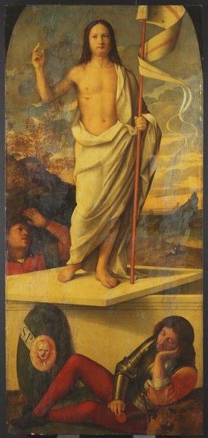Francesco Bissolo: Die Auferstehung Christi, Vorzustand 2017 © Staatliche Museen zu Berlin, Gemäldegalerie / Foto: C. Schmidt