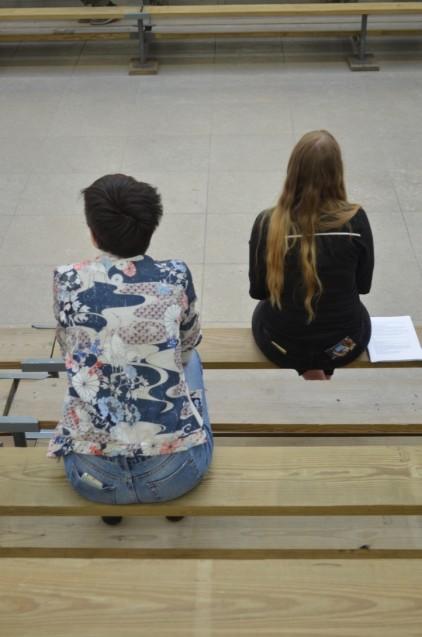 Studierende im Hamburger Bahnhof: Team Mentorium lud in die Ausstellung