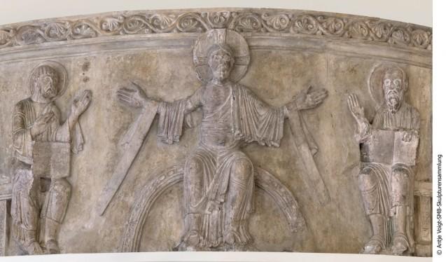 Fries aus einer romanischen Klosterkirche zu Gröningen (c) Staatliche Museen zu Berlin,  Skulpturensammlung / Antje Voigt