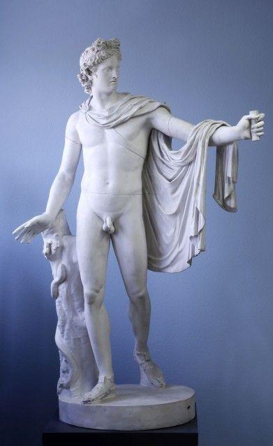 Apoll von Belvedere, 350-325 v. Chr., Gips, Abguss-Sammlung des Archäologischen Seminars der Philipps-Universität Marburg / Martina Klein