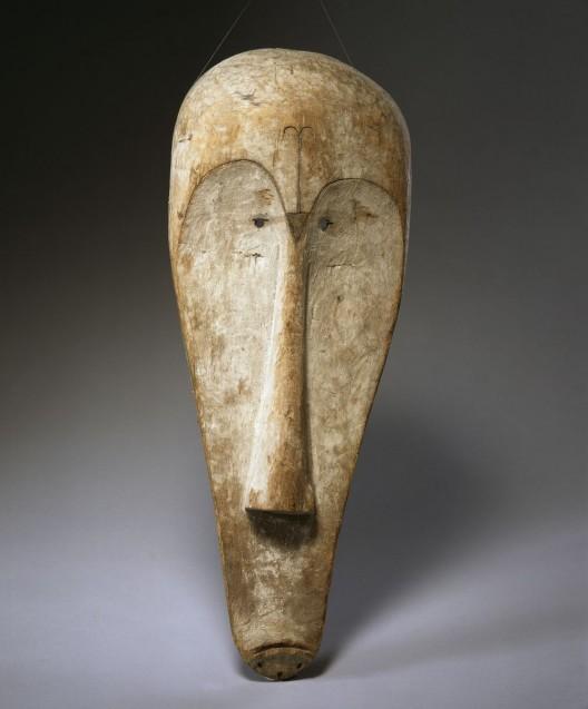 Ngil-Maske aus Zentralafrika. (c) Staatliche Museen zu Berlin, Ethnologisches Museum / Martin Franken