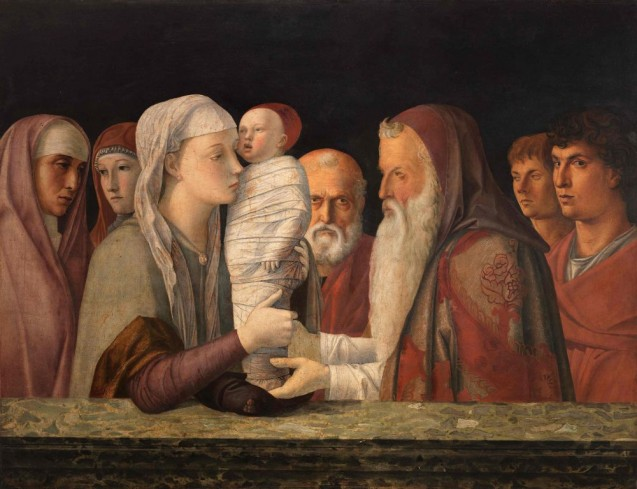 Giovanni Bellini: Die Darbringung Christi im Tempel, ca. 1472 © Fondazione Querini Stampalia, Venedig / cameraphoto arte snc