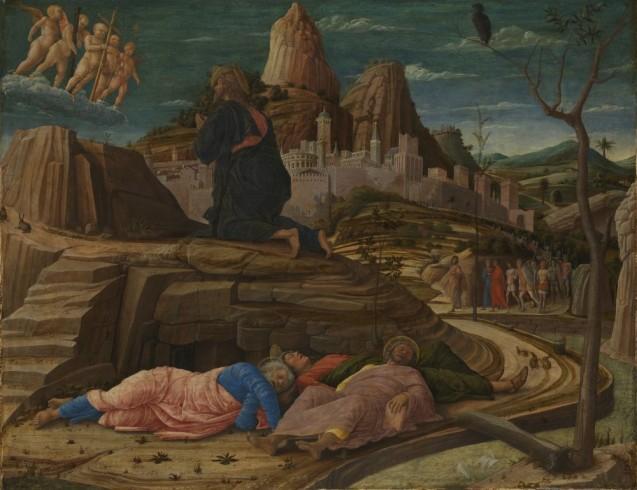 Andrea Mantegna: Christus am Ölberg, um 1458-60 © The National Gallery, London