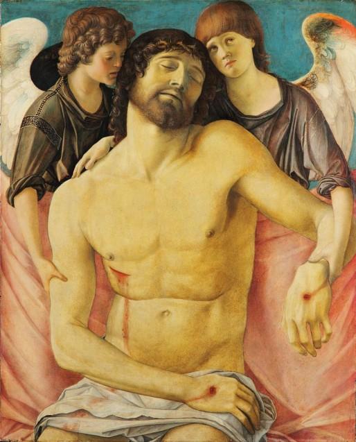 Giovanni Bellini: Der tote Christus, von Engeln gestützt, um 1475 © Staatliche Museen zu Berlin, Gemäldegalerie / Jörg P. Anders
