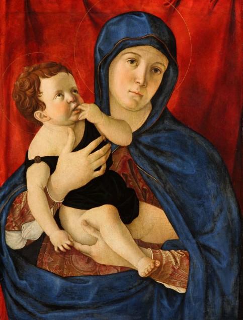 Giovanni Bellini: Maria mit Kind, ca. 1475 © Staatliche Museen zu Berlin, Gemäldegalerie / Jörg P. Anders