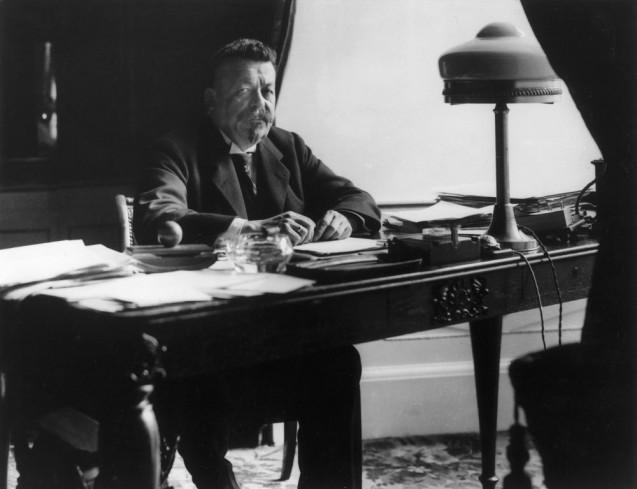 Willy Römer: Friedrich Ebert, erster Reichspräsident der Weimarer Republik, 06.02.1919, Weimar © Staatliche Museen zu Berlin, Kunstbibliothek, Photothek Willy Römer / Willy Römer